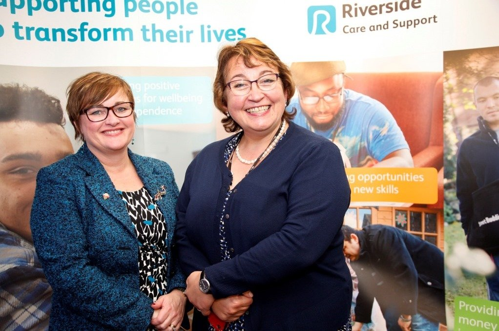 Launch of the new Riverside Care and Support Branding