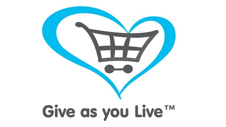Fundraising: Give As You Live. For example, raise funds by simply shopping online.